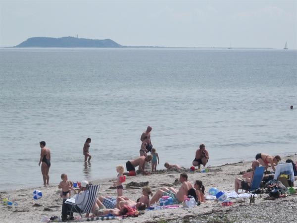 Boeslum Strand med Blåt flag