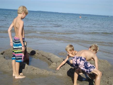 Sommerhus til 6 personer ved Hasmark strand
