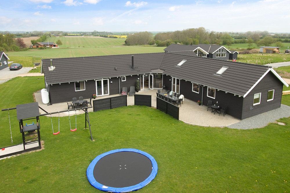 Sommerhus til 18 personer ved Kegnæs