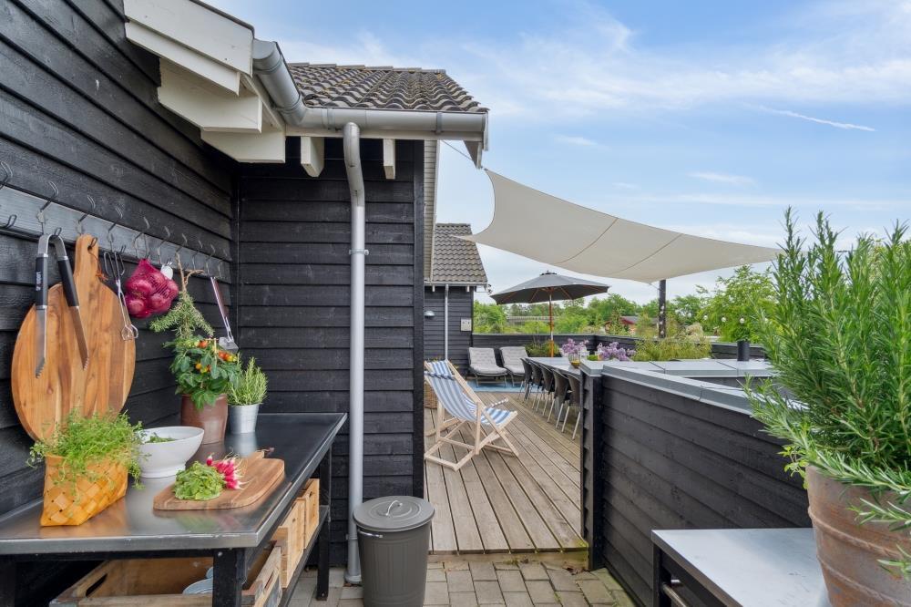 Sommerhus til 16 personer ved Tisvildeleje
