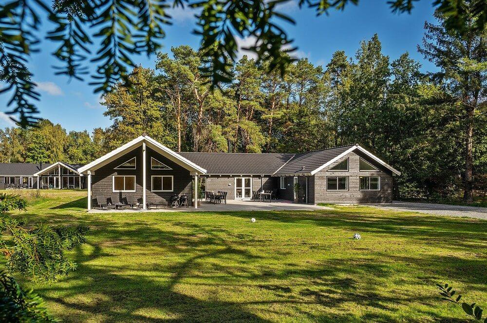 Sommerhus til 24 personer ved Asserbo
