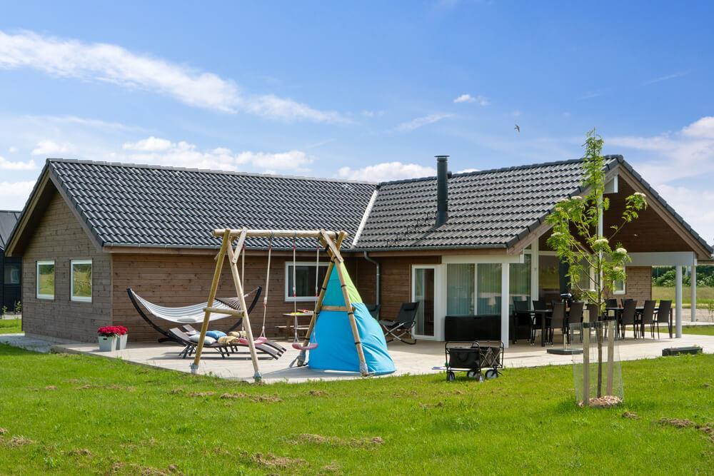 Sommerhus til 10 personer ved Saksild