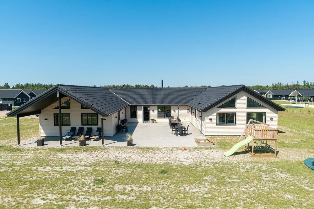 Luksus hus til 20 personer ved Houstrup Strand