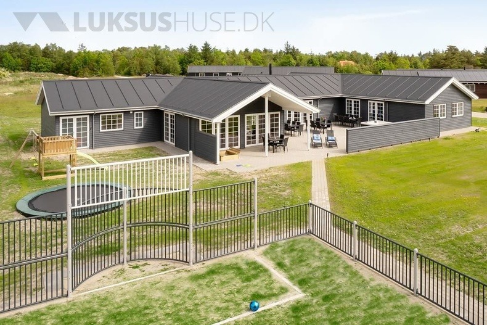 Luksus sommerhus ved Ålbæk til 26 personer