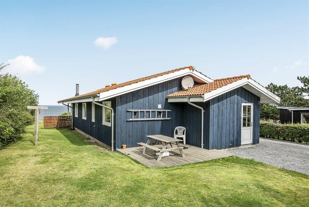 Sommerhus til 6 personer ved Bro Strand