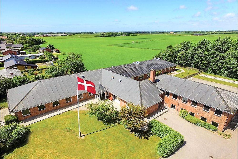 Sommerhus til 28 personer ved Vester Husby