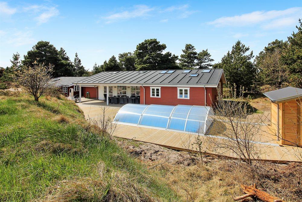Sommerhus til 14 personer ved Henne