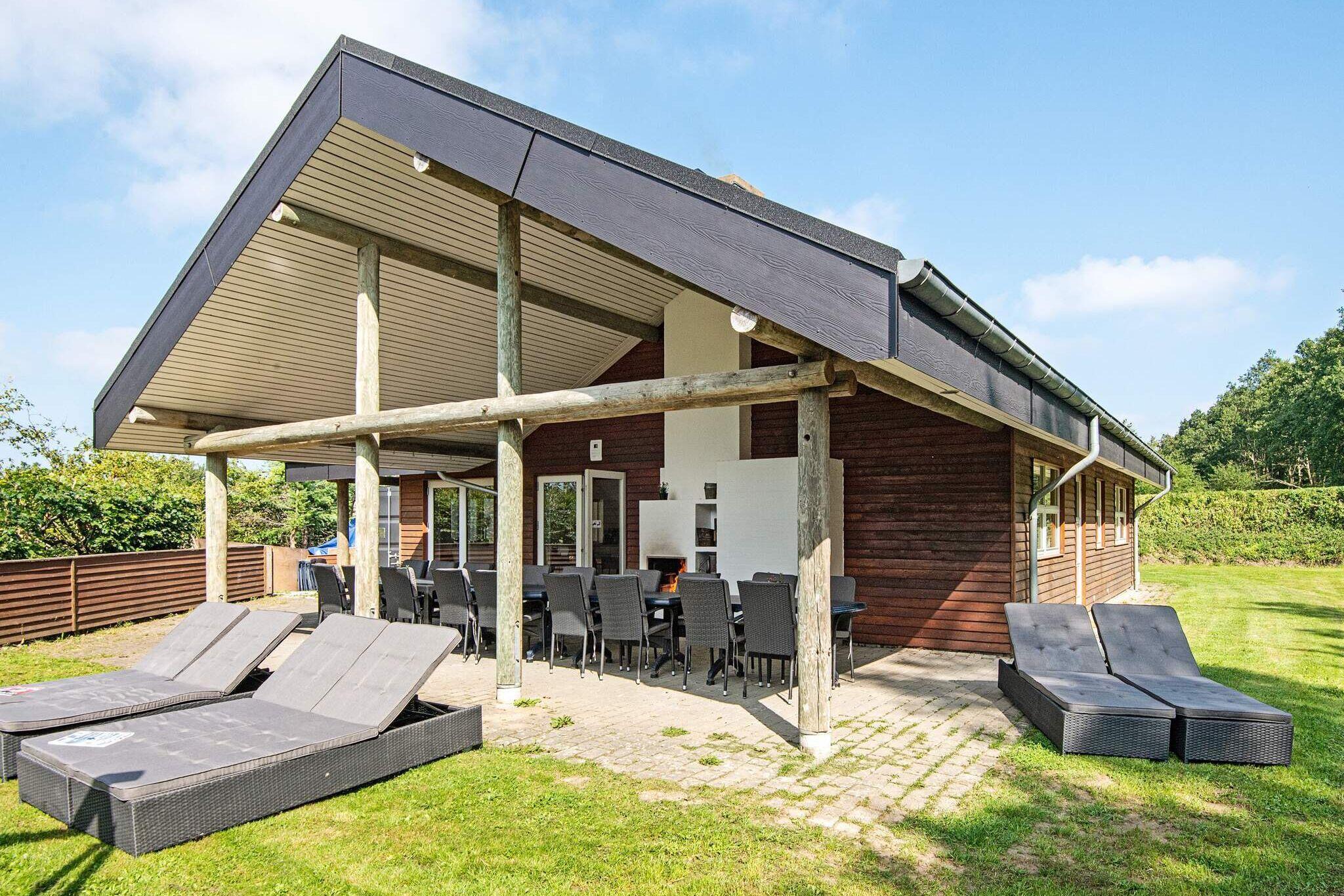 Sommerhus til 17 personer ved Fårvang
