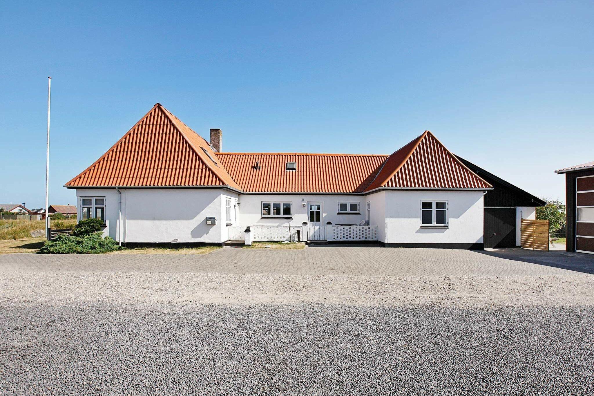Sommerhus til 17 personer ved Harboøre