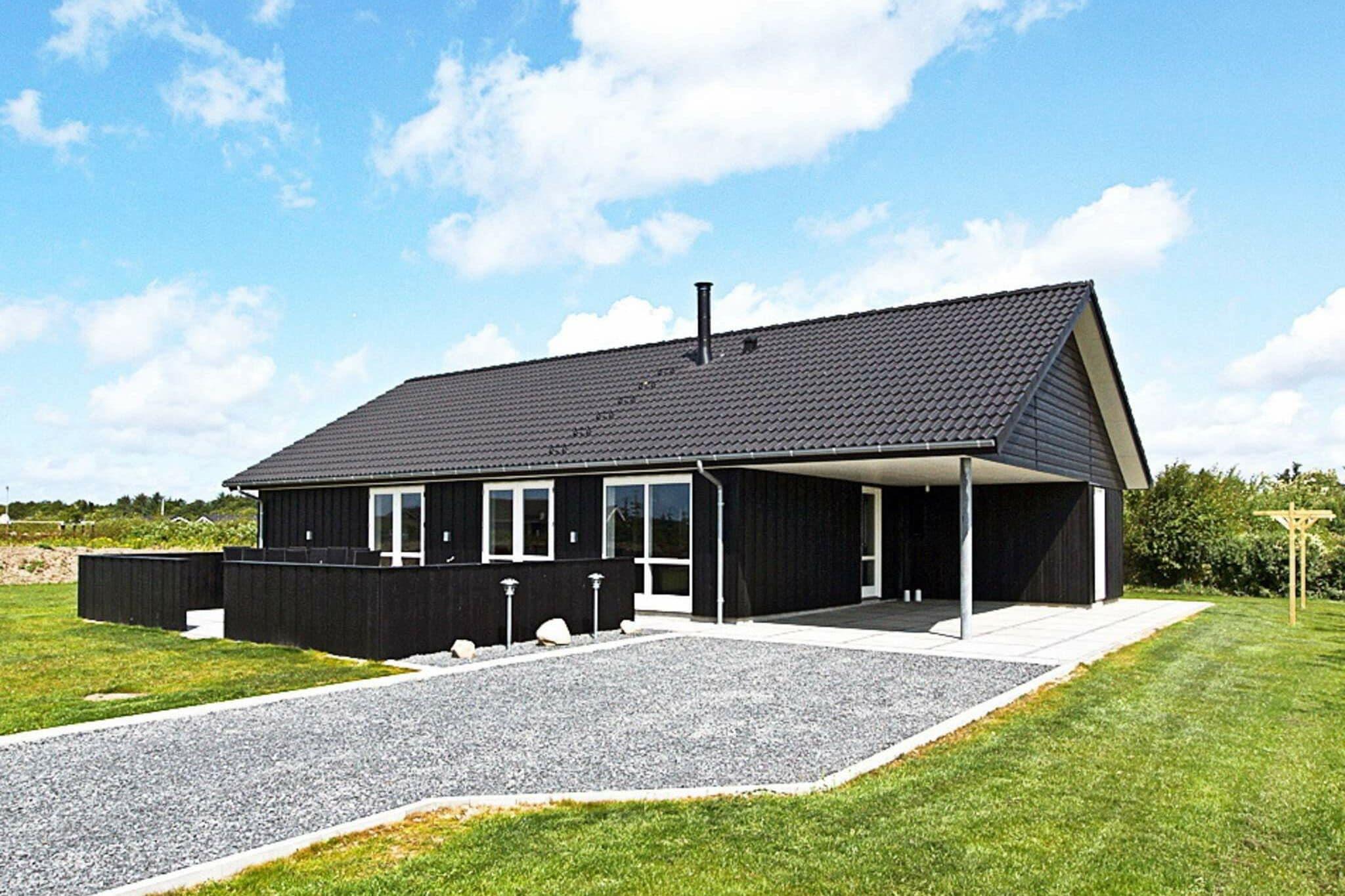 Sommerhus til 10 personer ved Hemmet