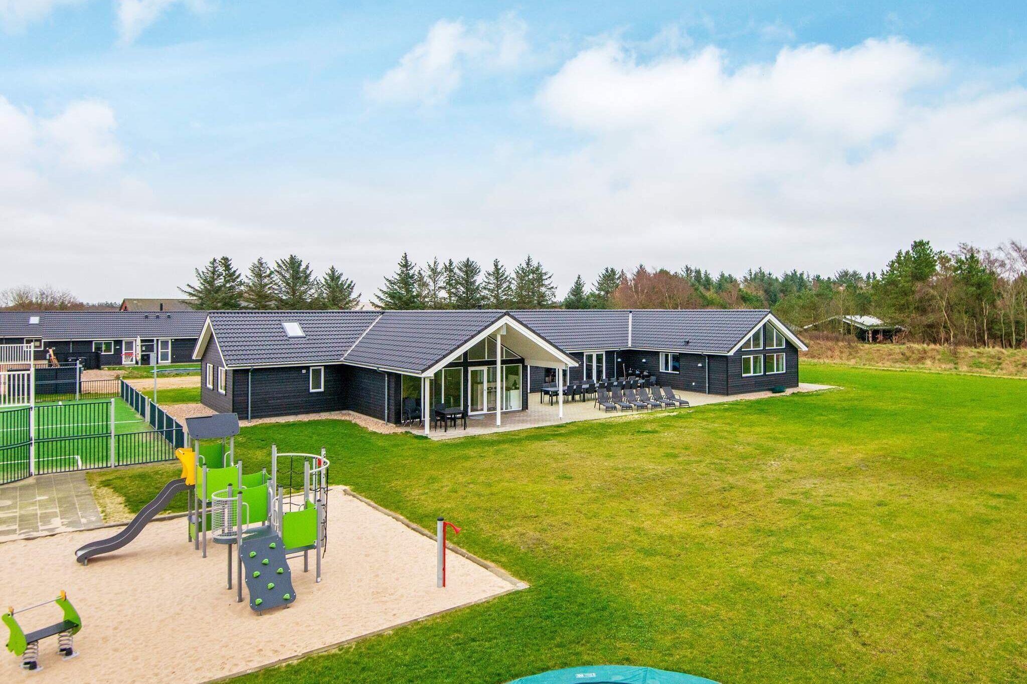 Sommerhus til 30 personer ved Nørre Nebel