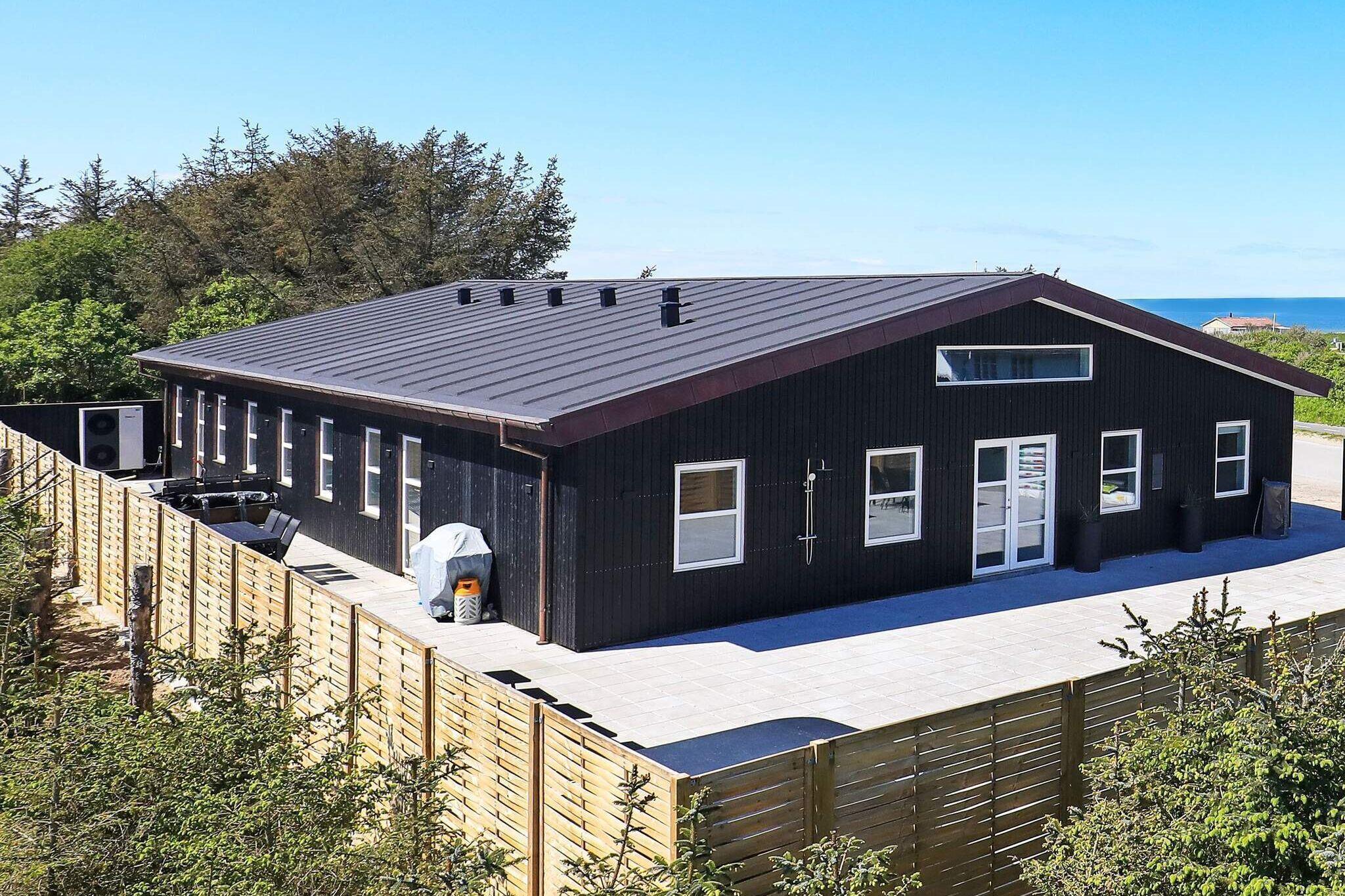 Sommerhus til 22 personer ved Løkken