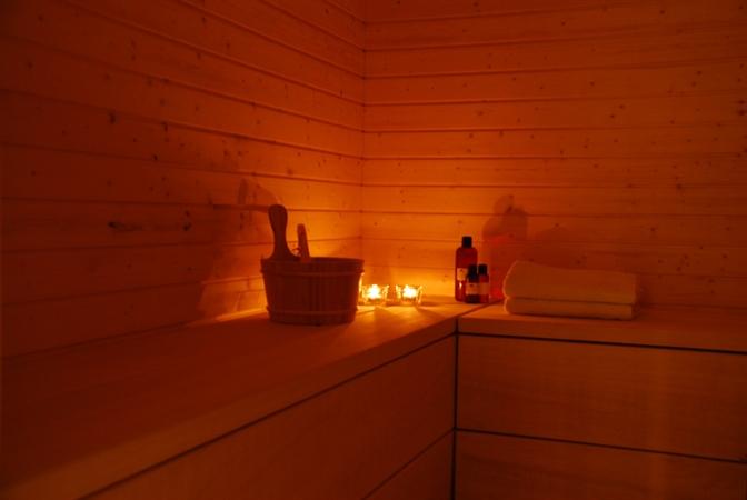 Sauna i Caprice Spa