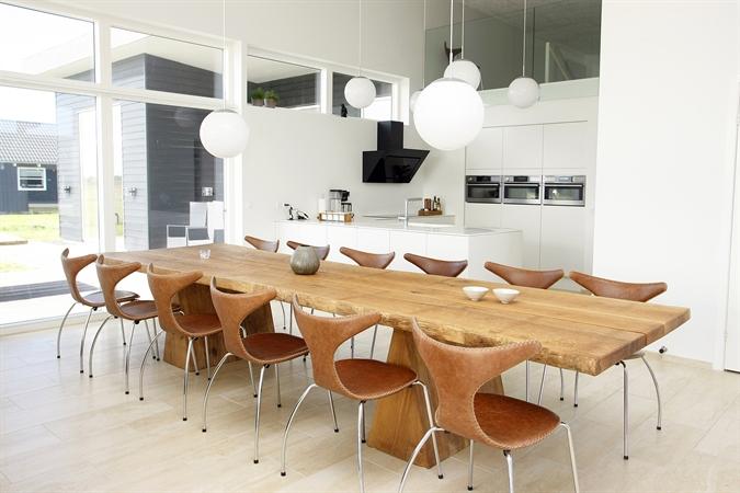 Køkken og spiseområde