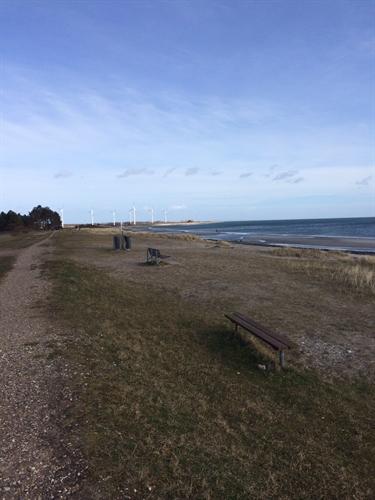 Stranden sensommer