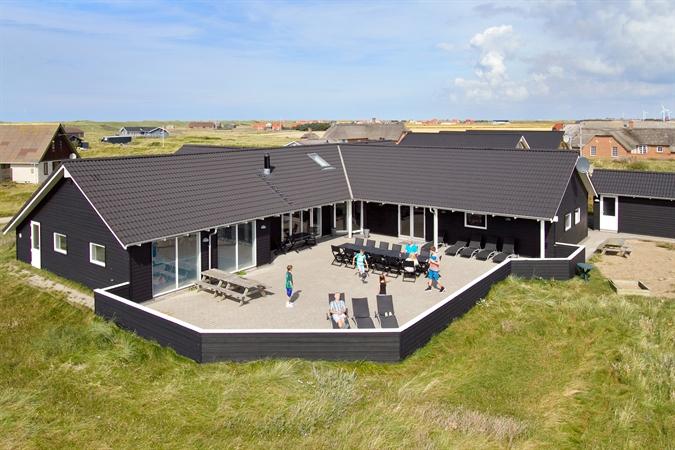 Poolhus til 22 personer ved Harboøre