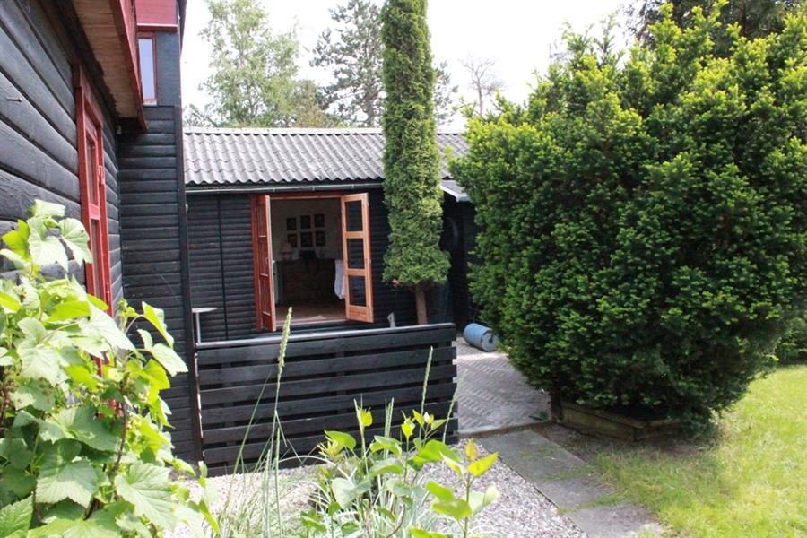 terrasse ved spisestue/køkken