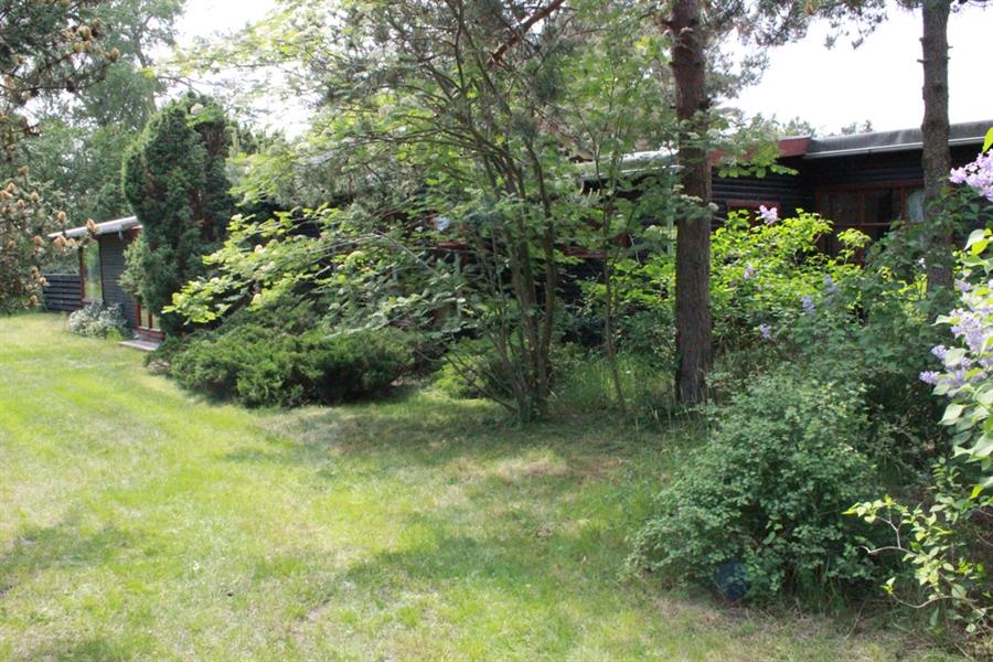 Sommerhus foran - indkørsel
