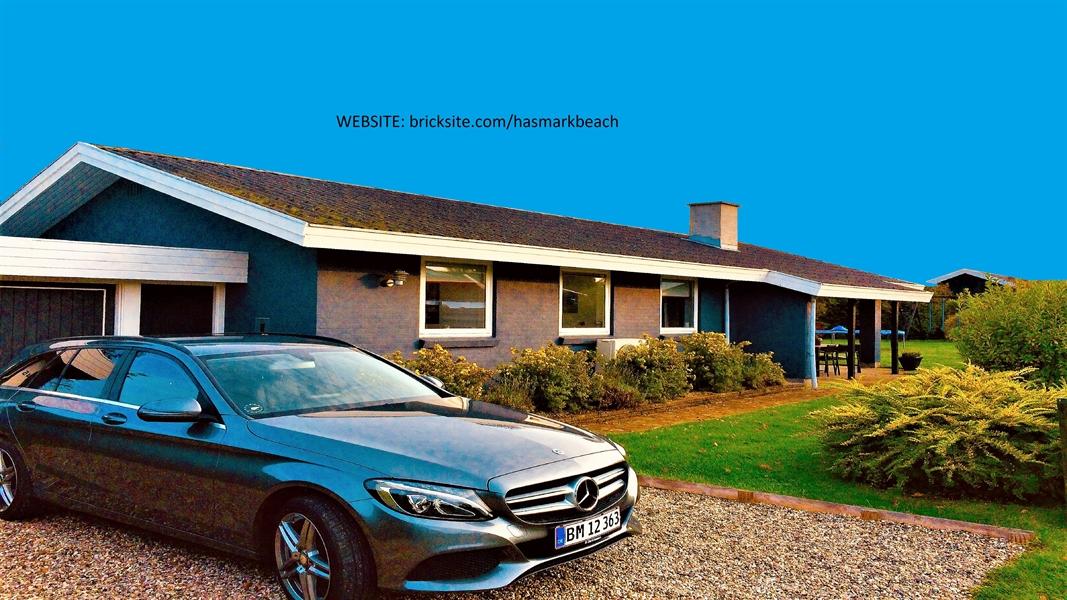 Sommerhus til 8 personer ved Hasmark strand