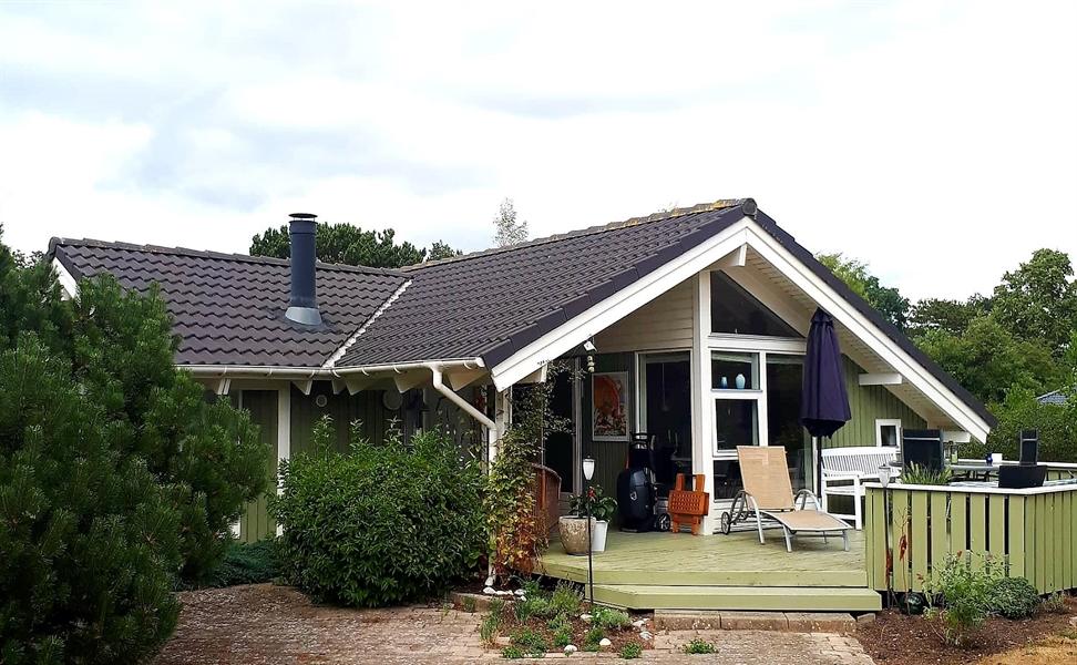Sommerhus til 6 personer ved Høve Strand