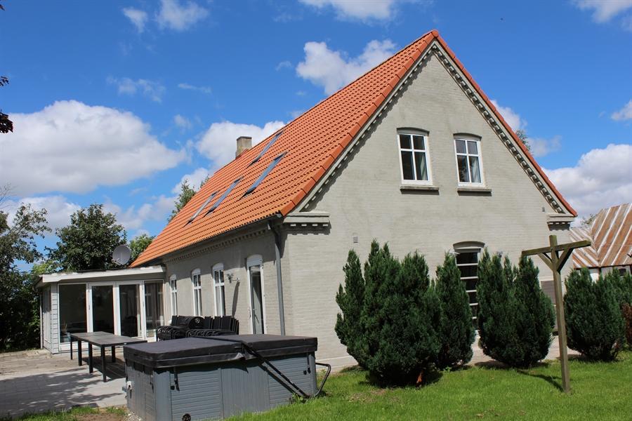 SPA og terrasse