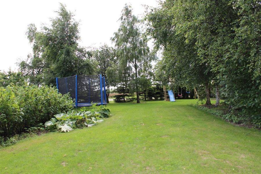 Legestativ og trampolin