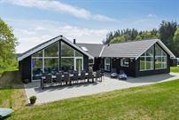 Sommerhus til 14 personer ved Fjellerup